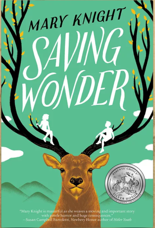 "FRONT COVER ""SAVING WONDER"""